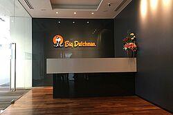 Ruang penerima tamu kantor Big Dutchman
