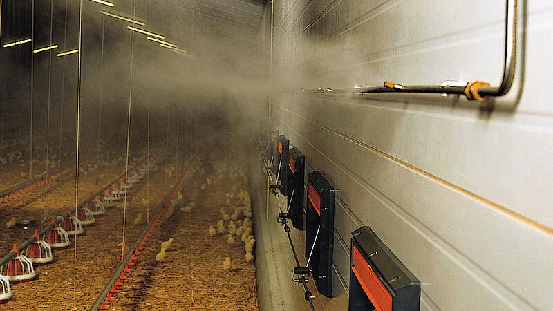 Fogging Cooler – system kabut tekanan tinggi